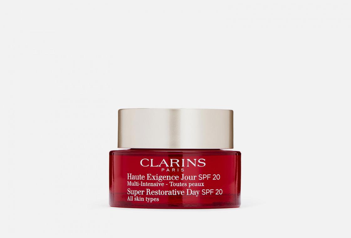 Восстанавливающий дневной крем для всех типов кожи SPF 20 Clarins Multi-Intensive