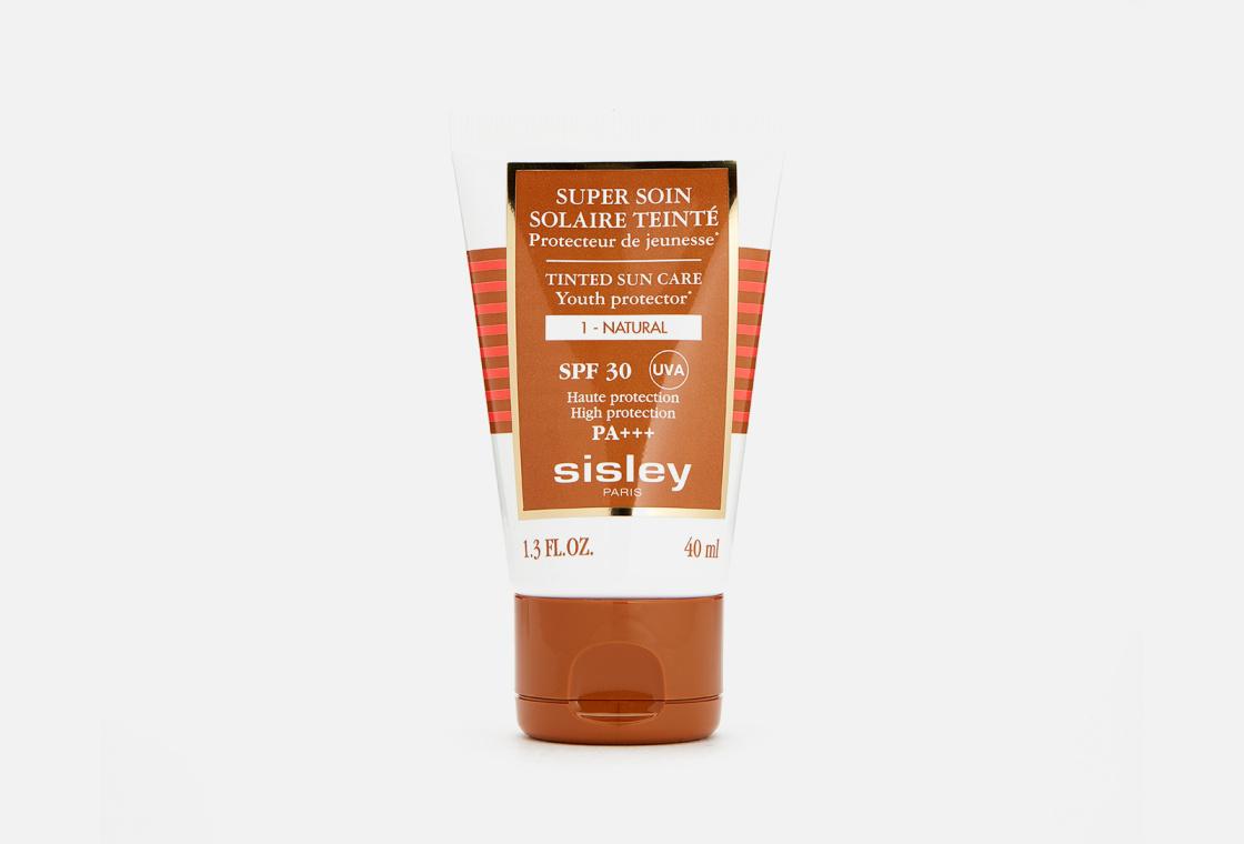Крем для лица солнцезащитный оттеночный SPF30  Sisley Super Soin Solaire Tinted Sun Care Natural