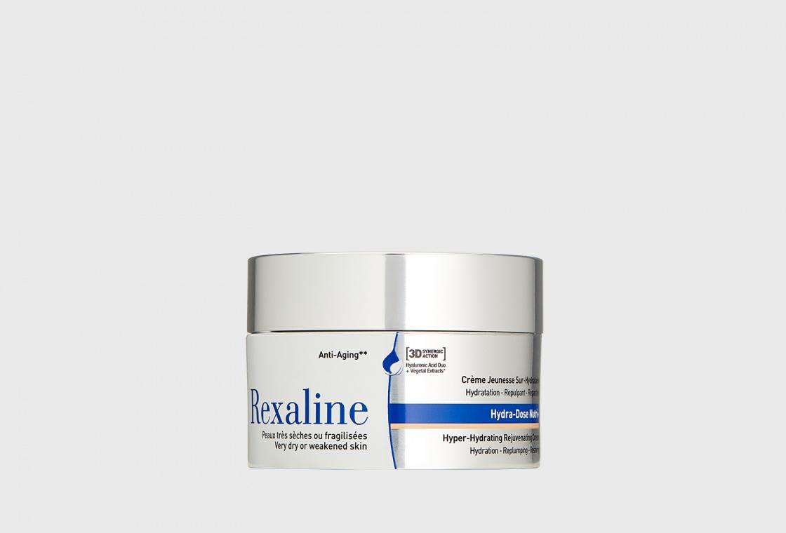Крем суперувлажняющий  ультра-питательный для молодости кожи  Rexaline 3D Hydra