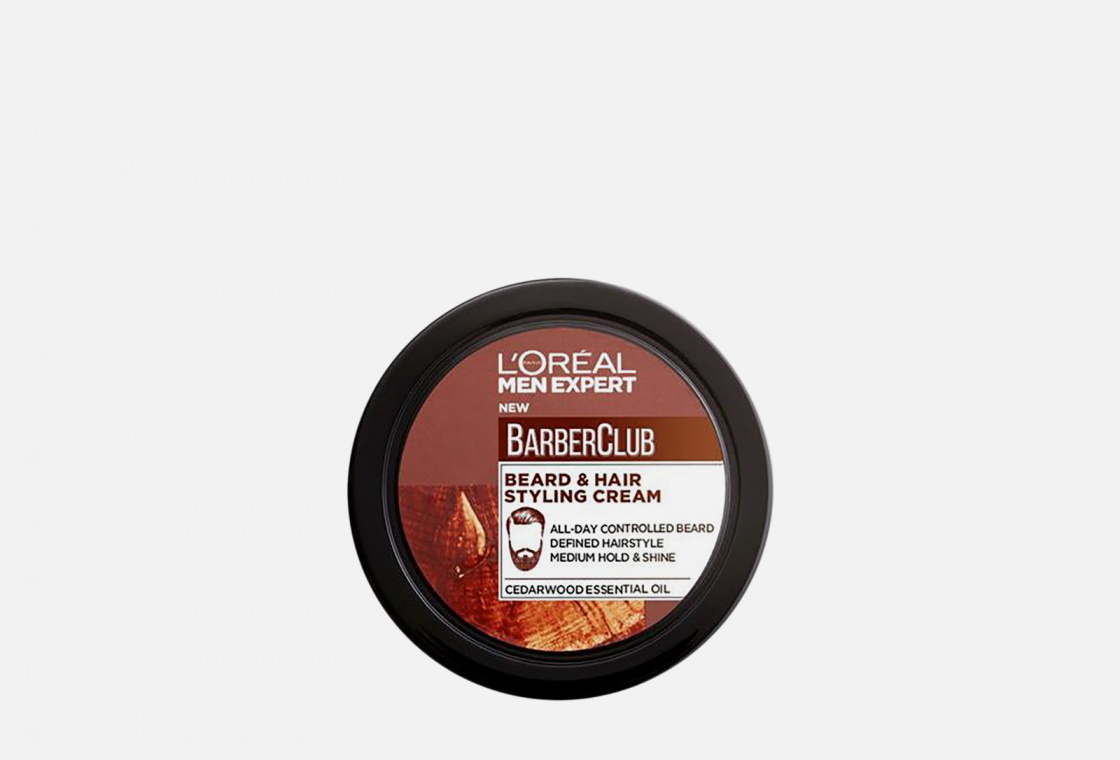 Крем-стайлинг для бороды L'Oreal Paris Men Expert Barber Club
