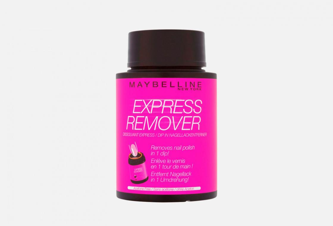 Экспресс-средство для снятия лака Maybelline New York Express Remover