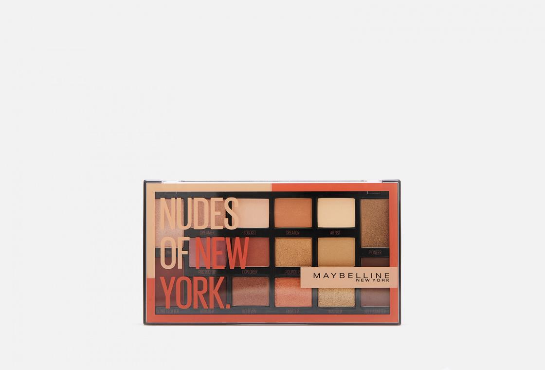 Палетка теней для век Maybelline New York Nudes of NewYork