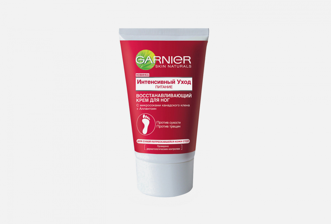 Восстанавливающий крем для очень сухой кожи ног Garnier Интенсивный уход, питание