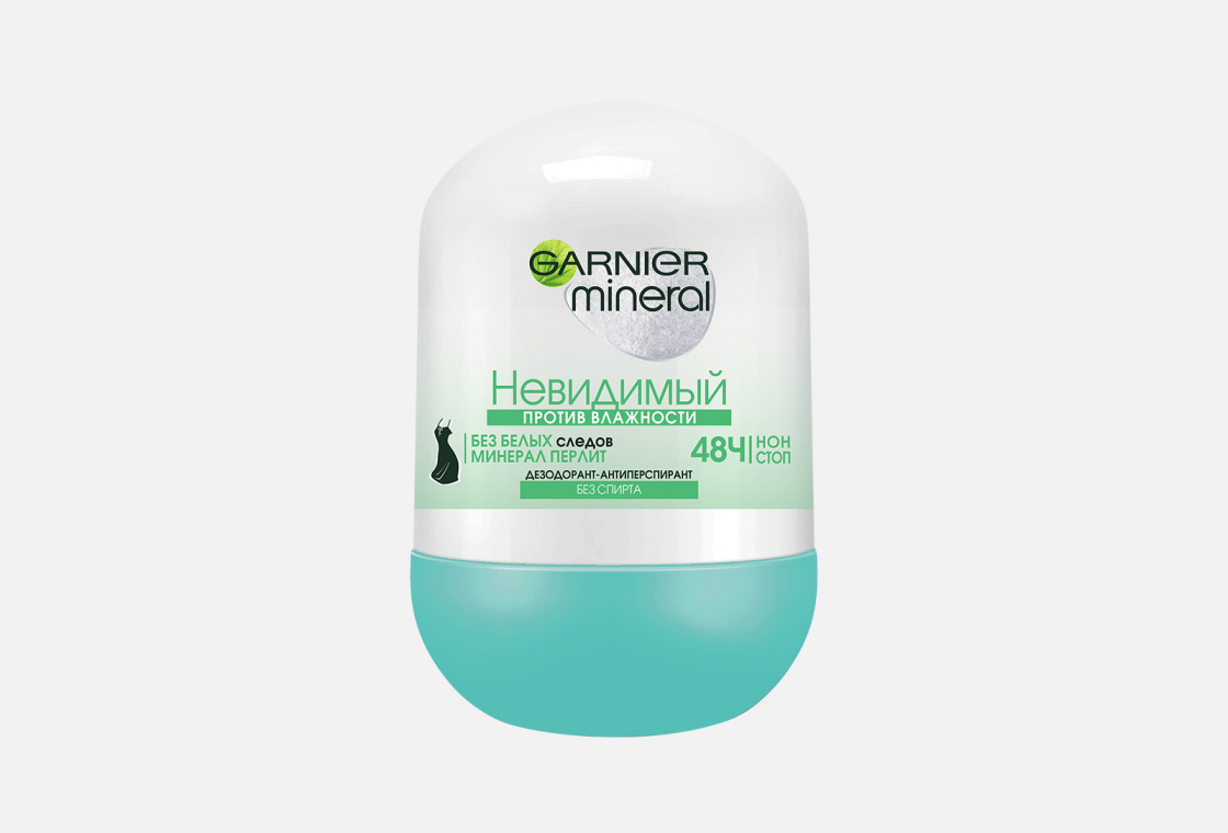 Дезодорант-антиперспирант шариковый Garnier Mineral Против влажности