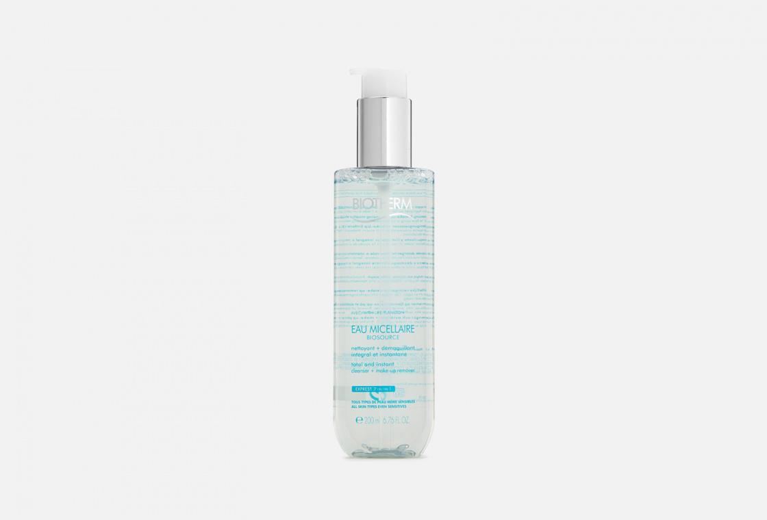 Мицеллярная вода для снятия макияжа c лица и глаз  Biotherm BIOSOURCE