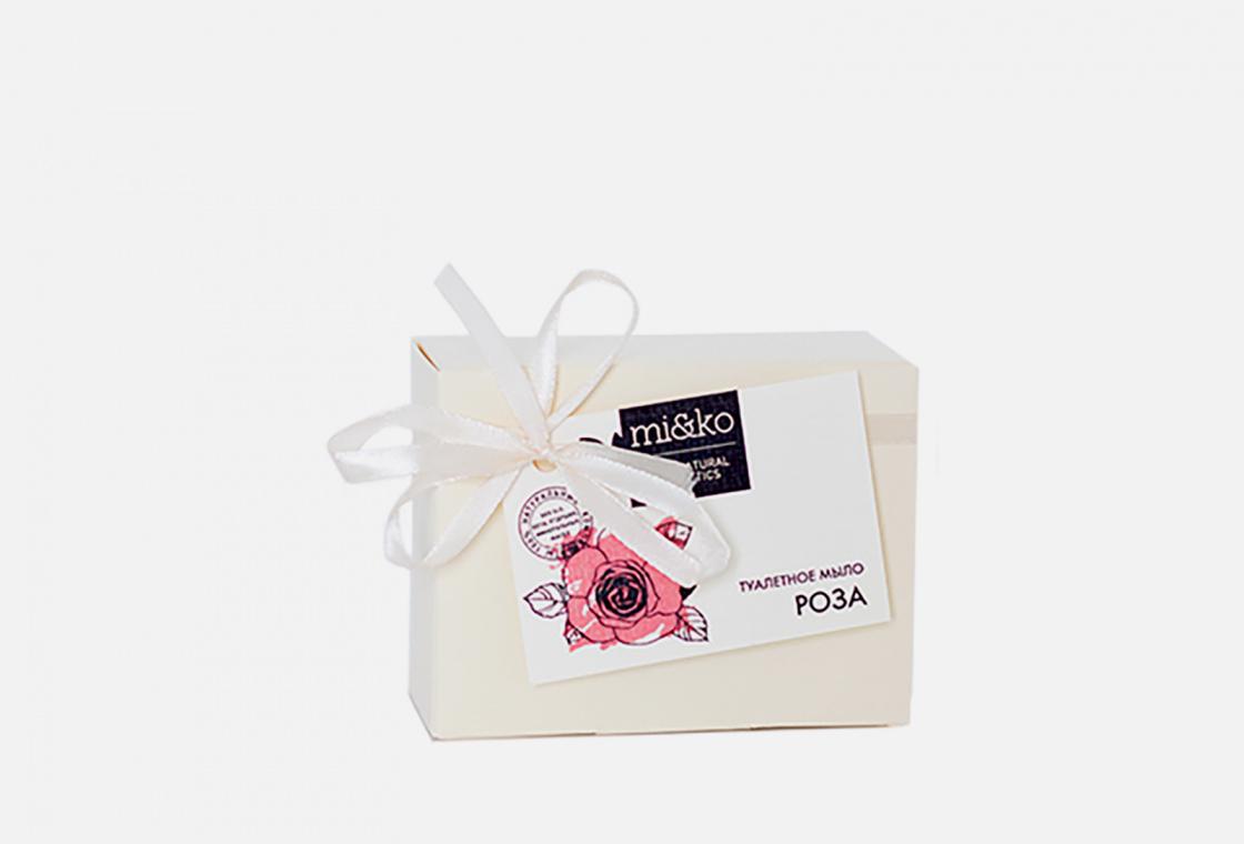 Туалетное мыло  MiKo Роза