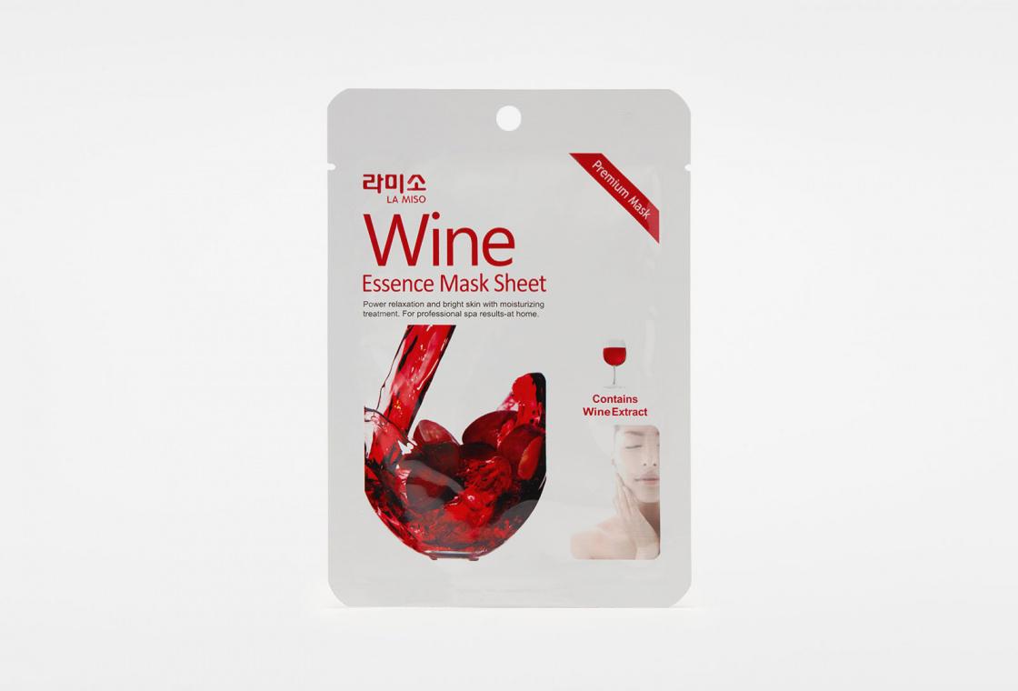 Маски-салфетки La Miso Маски-салфетки Красное вино