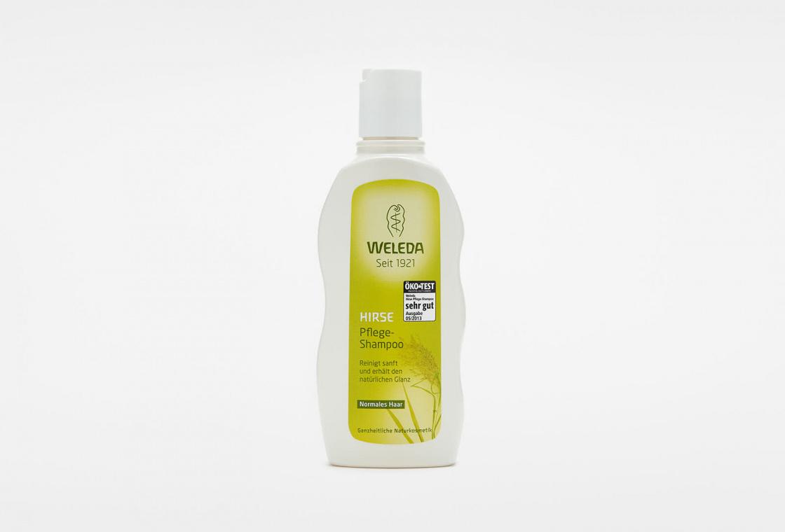 Шампунь-уход для волос с экстрактом Просо Weleda Millet Nourishing Shampoo