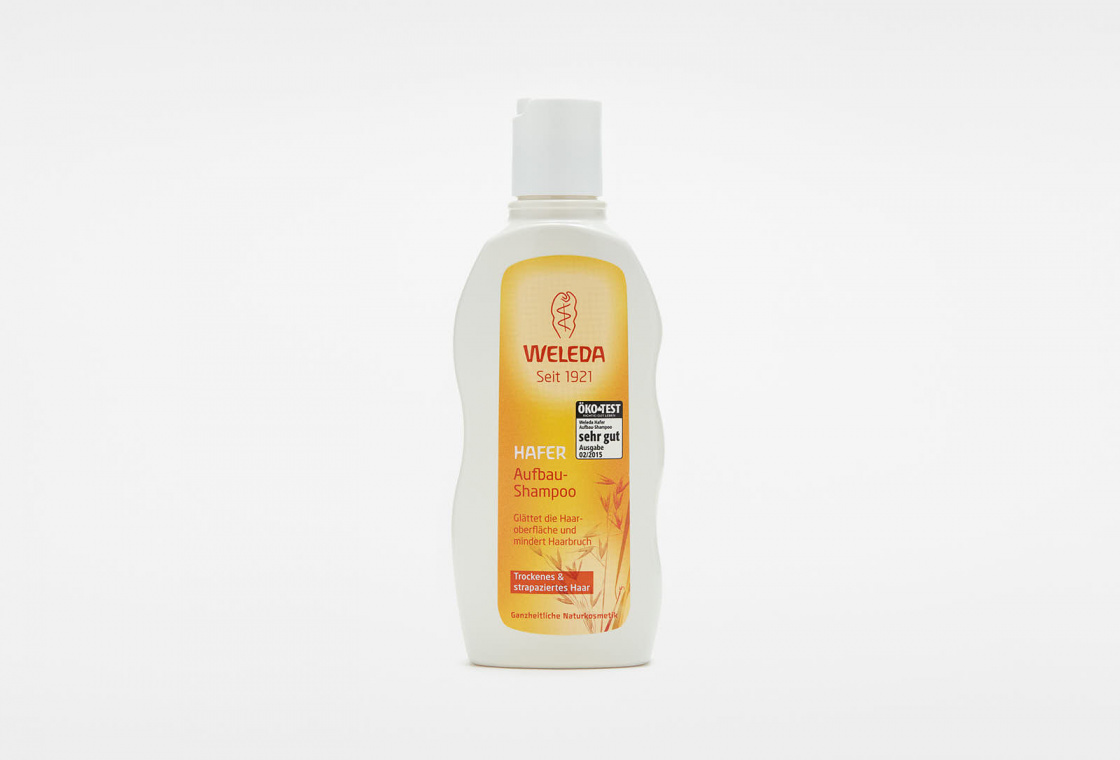 Шампунь-уход для волос с экстрактом Овса  Weleda Oat Replenishing Shampoo