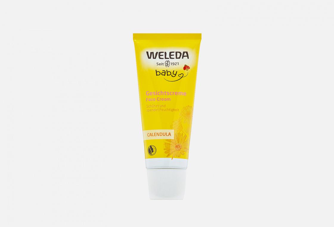 Крем для лица детский с календулой  Weleda Calendula Facial Care for Children