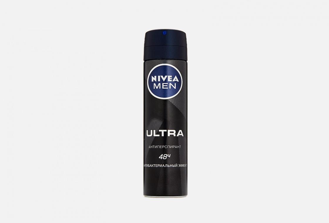 Дезодорант-антиперспирант спрей с антибактериальным эффектом NIVEA Men ULTRA