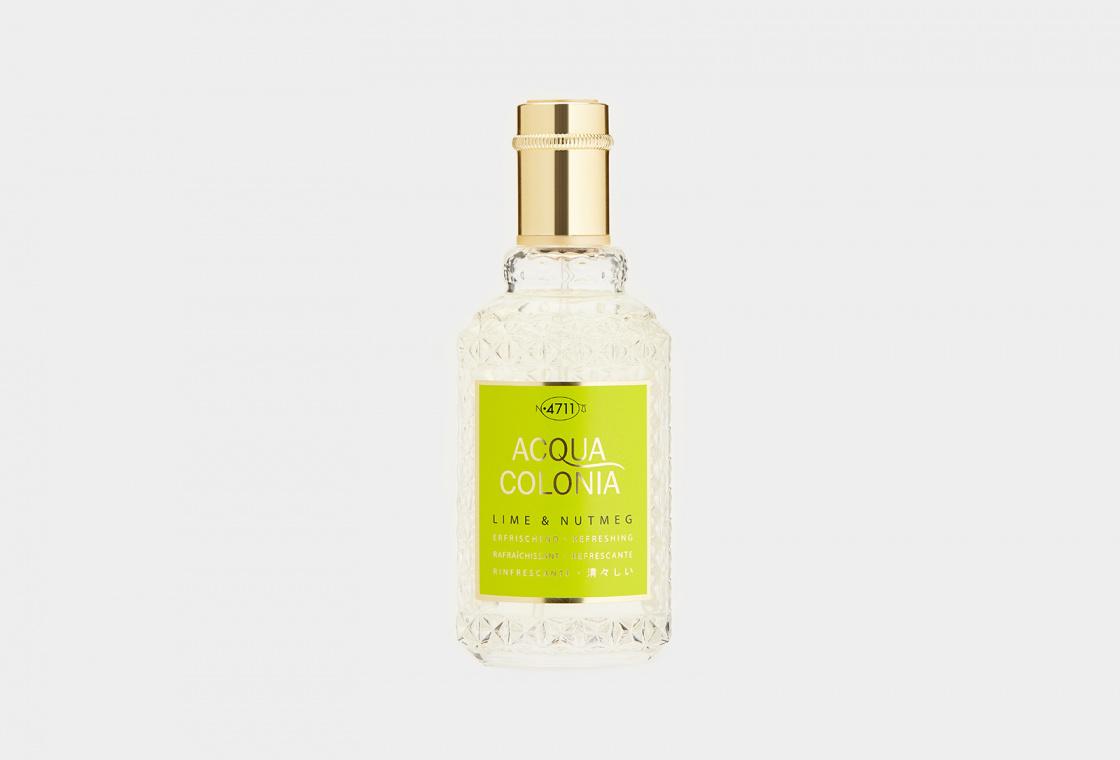 Одеколон 4711AquaColonia Refreshing Lime & Nutmeg