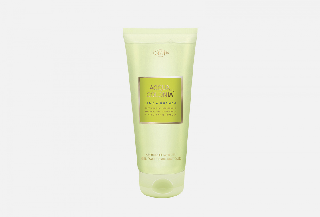 Гель для душа 4711AquaColonia Refreshing Lime & Nutmeg
