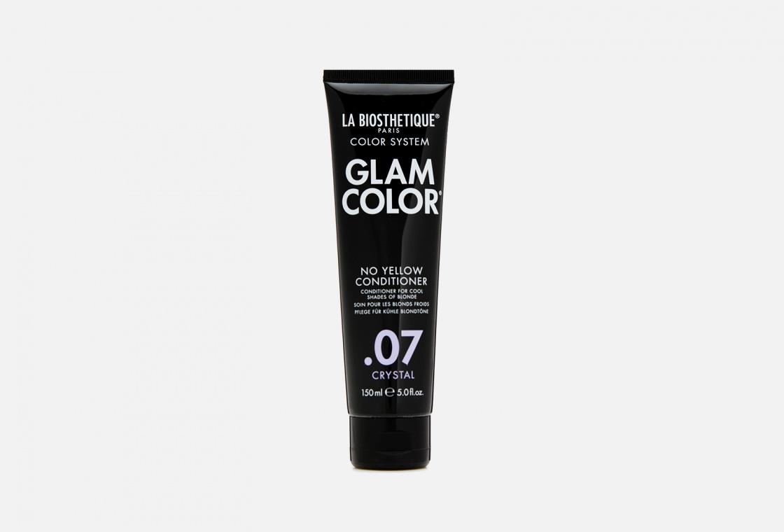 Кондиционер для окрашенных волос La Biosthetique Glam Color No Yellow Conditioner .07 Crystal