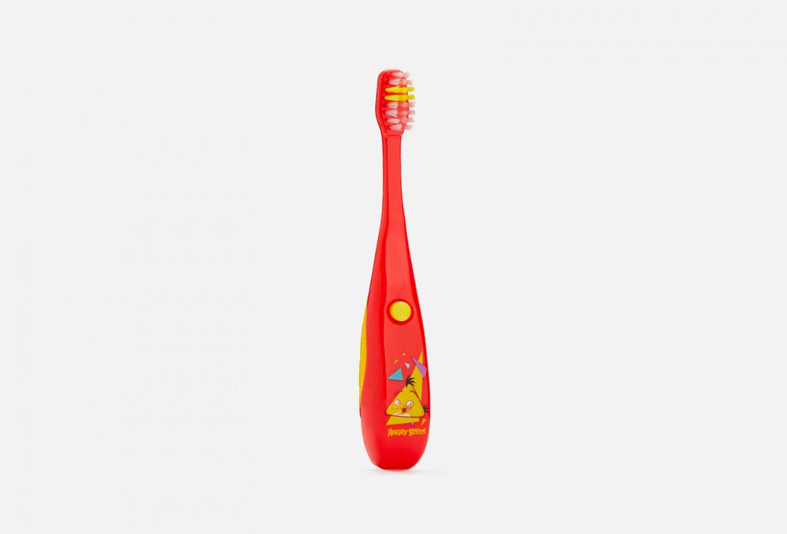 Музыкальная зубная щетка 3+ в ассортименте Longa Vita  Angry Birds