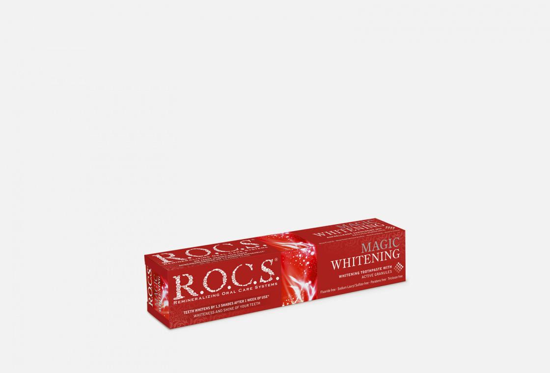 Зубная паста R.O.C.S. Magic whitening