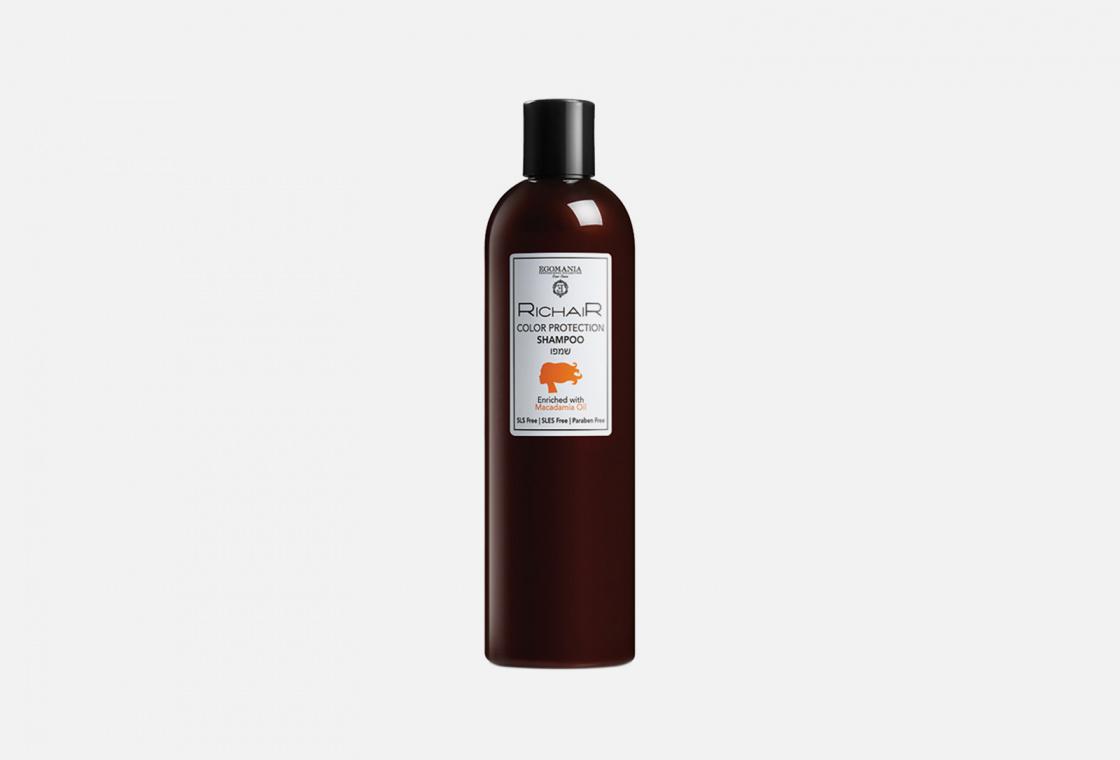 Шампунь для волос  с маслом макадамии  Egomania RicHair Color protection