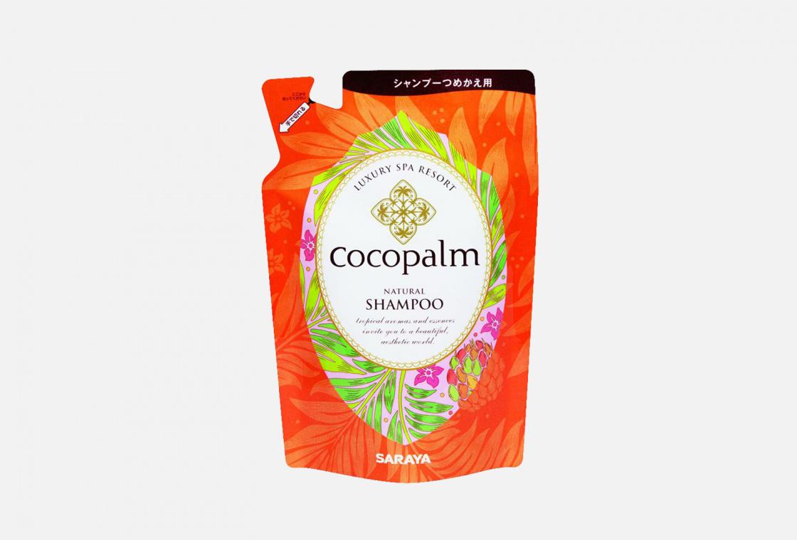 Шампунь для оздоровления волос и кожи головы сменный блок Luxury Spa Resort Cocopalm