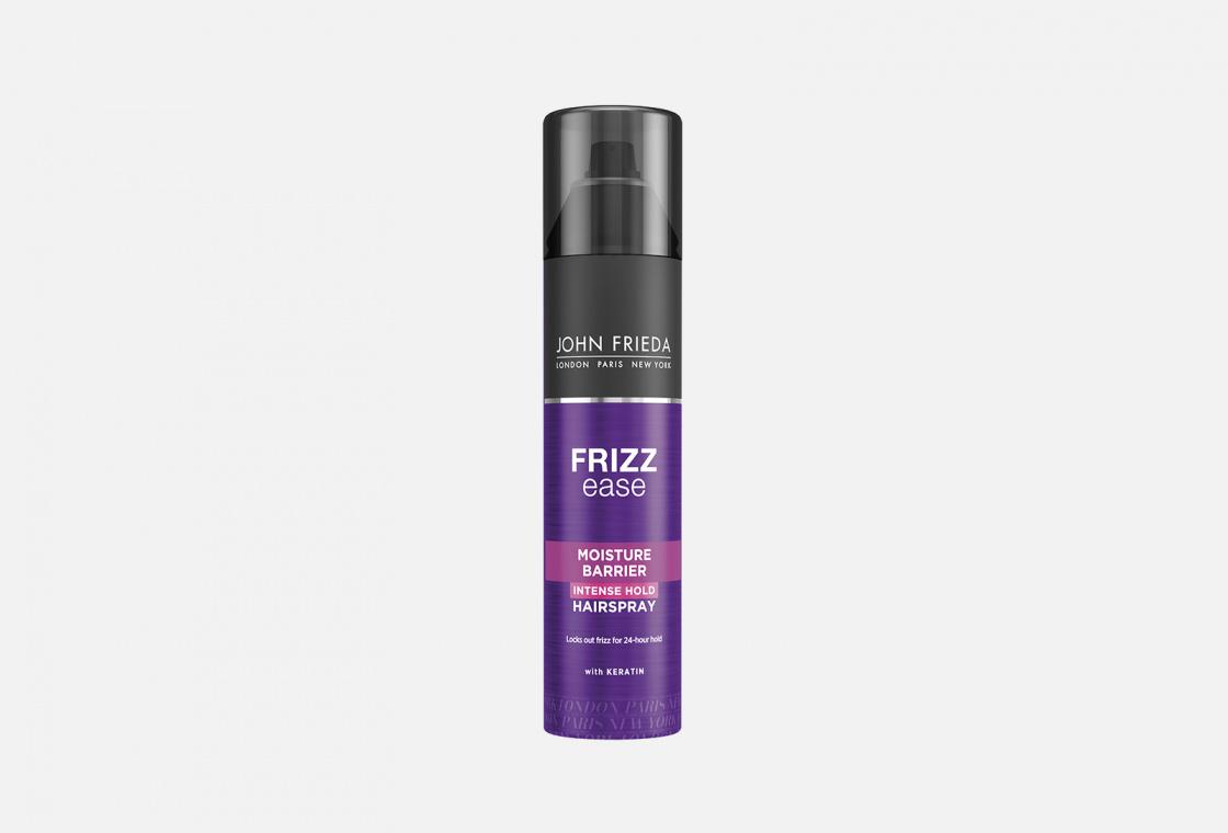 Лак для волос сверхсильной фиксации с защитой от влаги и атмосферных явлений  John Frieda Frizz Ease