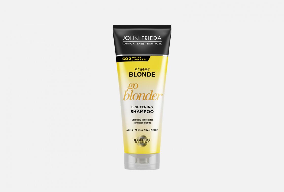 Шампунь для натуральных,окрашенных и мелированных волос John Frieda Sheer Blonde Go Blonder