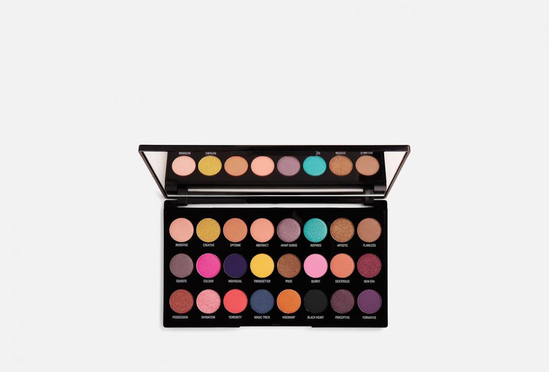 ПАЛЕТКА ПИГМЕНТОВ ДЛЯ ВЕК MakeUp Revolution Creative Vol 1 Makeup Pigment Palette
