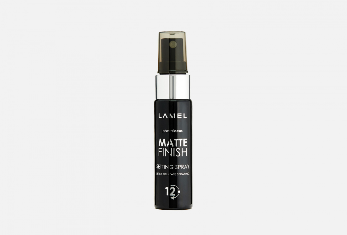 Спрей для фиксации макияжа Lamel Matte Finish Spray