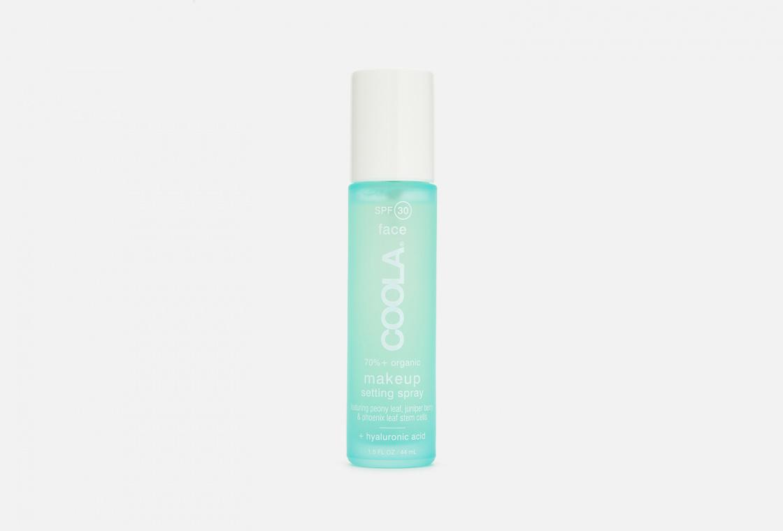 Фиксирующий спрей для макияжа COOLA SPF 30