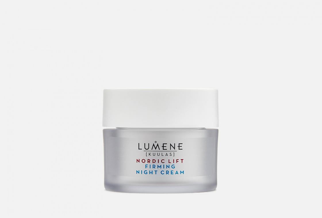 Укрепляющий ночной крем-уход для красоты кожи  LUMENE Kuulas