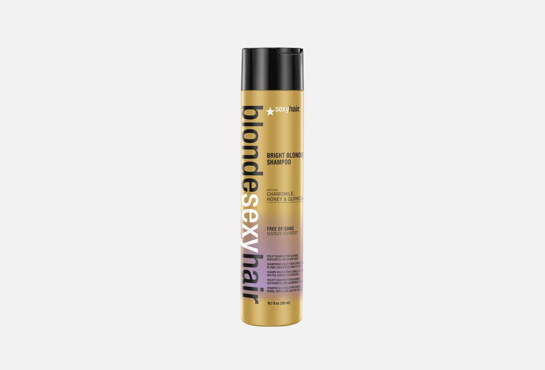 Корректирующий шампунь  Sexy Hair Bright Blonde Shampoo