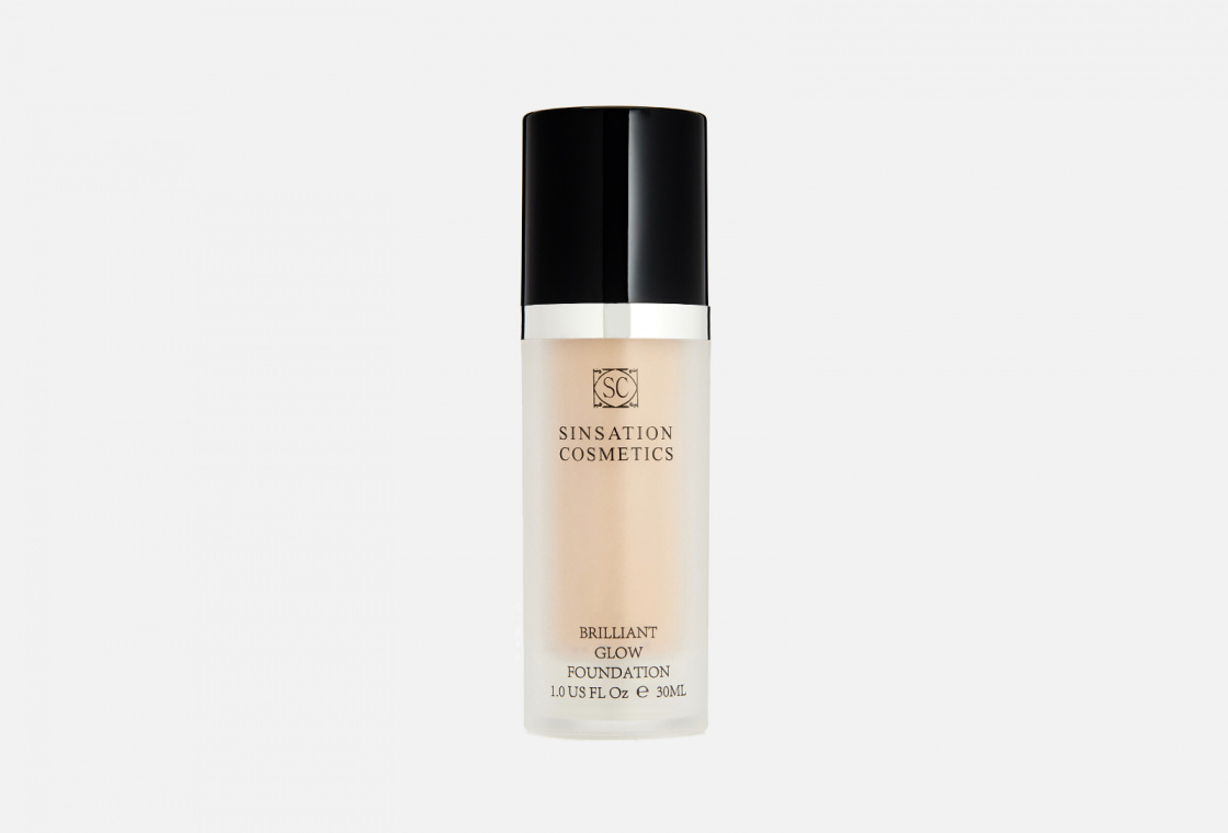 Тональная основа  Sinsation Cosmetics  Brilliant Glow Foundation
