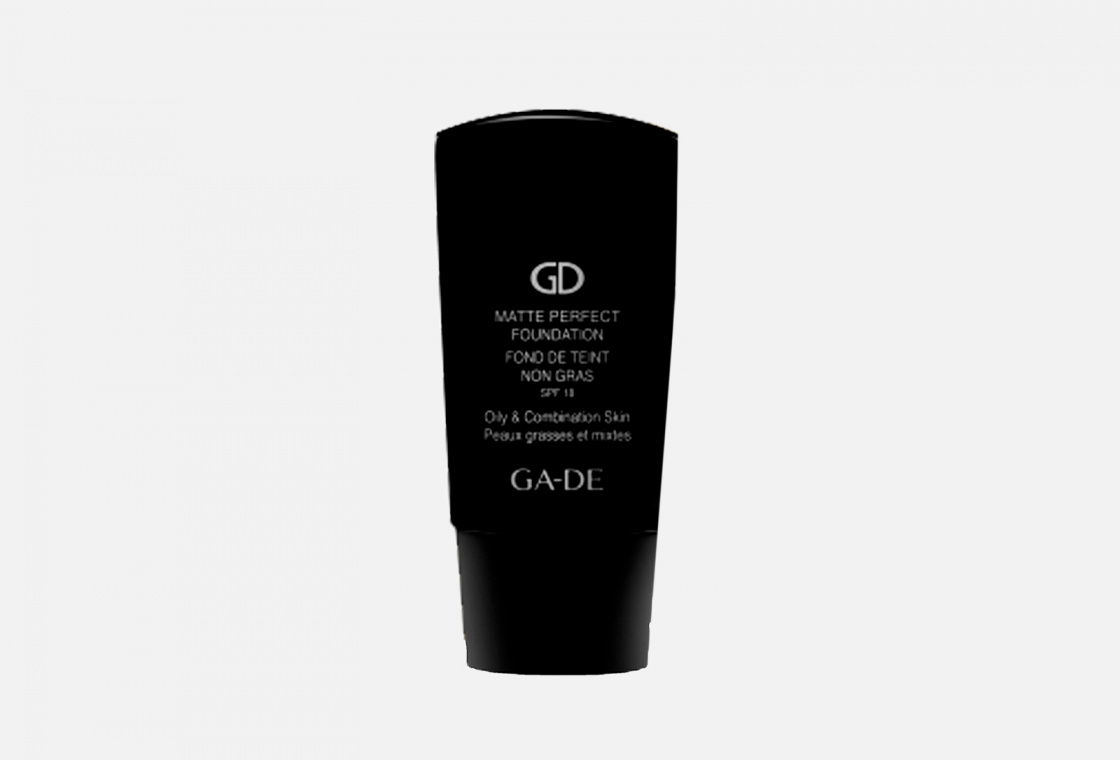 Тональный крем Ga De  MATTE PERFECT FOUNDATION SPF18