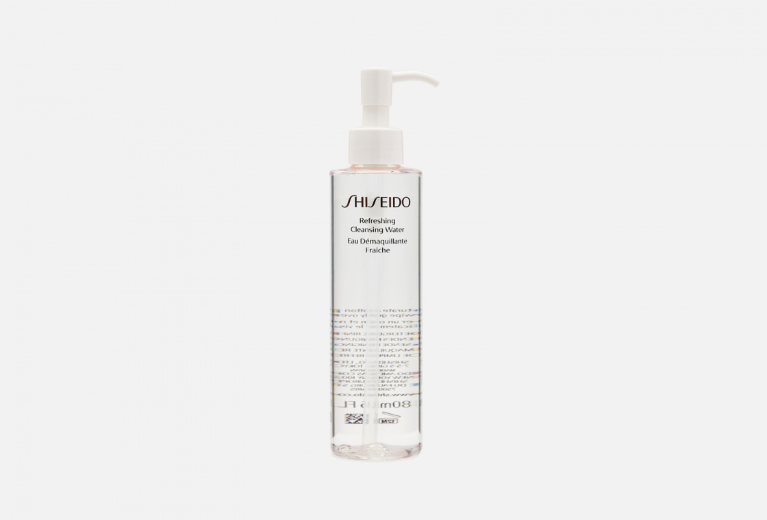 Освежающая очищающая вода Shiseido Refreshing Cleansing Water