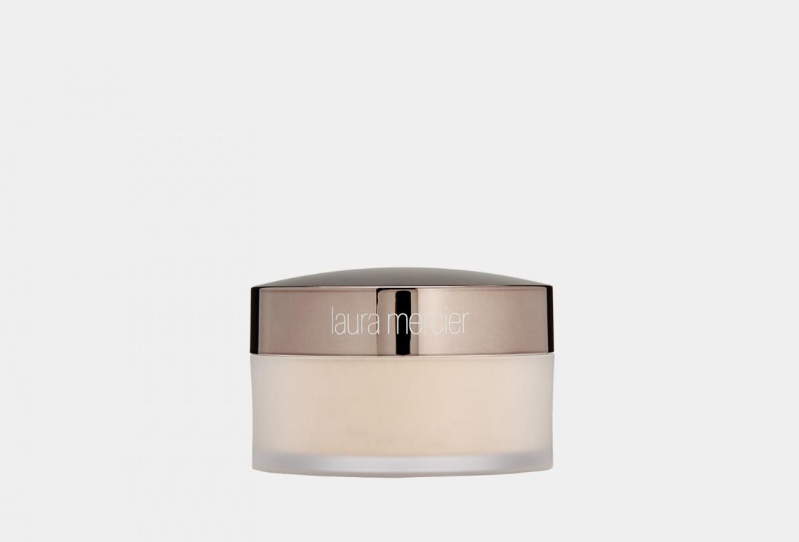 Фиксирующая рассыпчатая пудра для лица с невесомым полупрозрачным покрытием Laura Mercier translucent loose setting powder GLOW