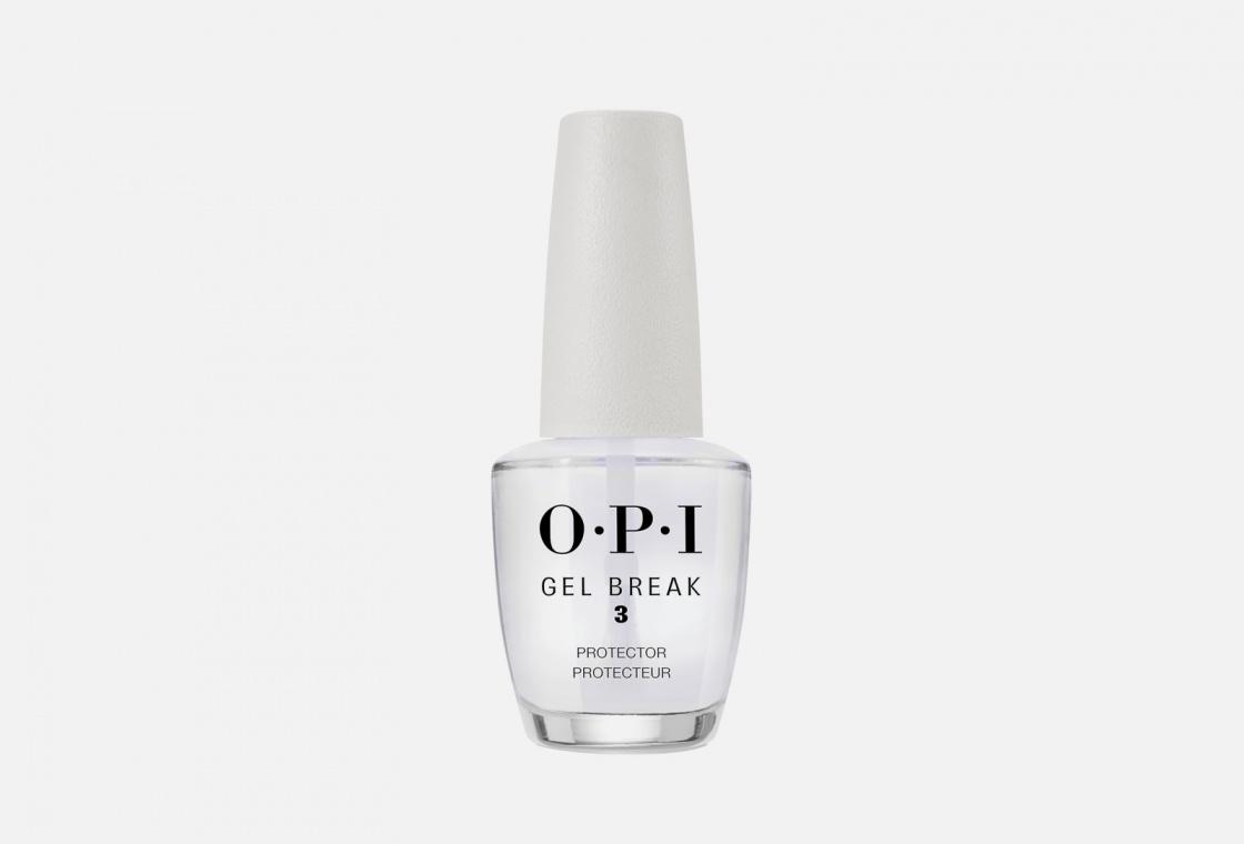 Топовое покрытие для ногтей защитное OPI Gel Break