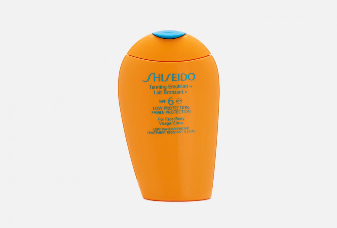 Эмульсия для загара  Shiseido Global Suncare Tanning Emulsion N