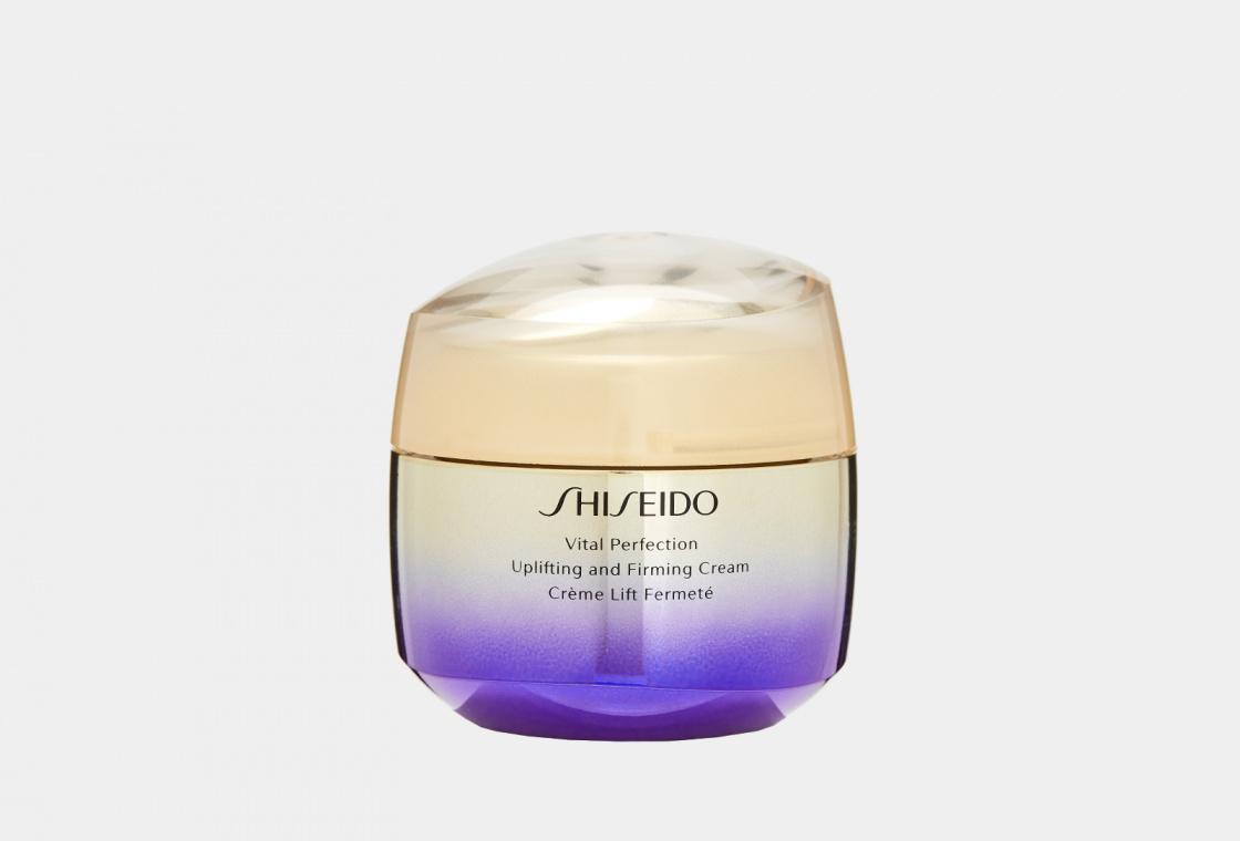 Лифтинг-крем повышающий упругость кожи Shiseido VITAL PERFECTION UPLIFTING AND FIRMING CREAM