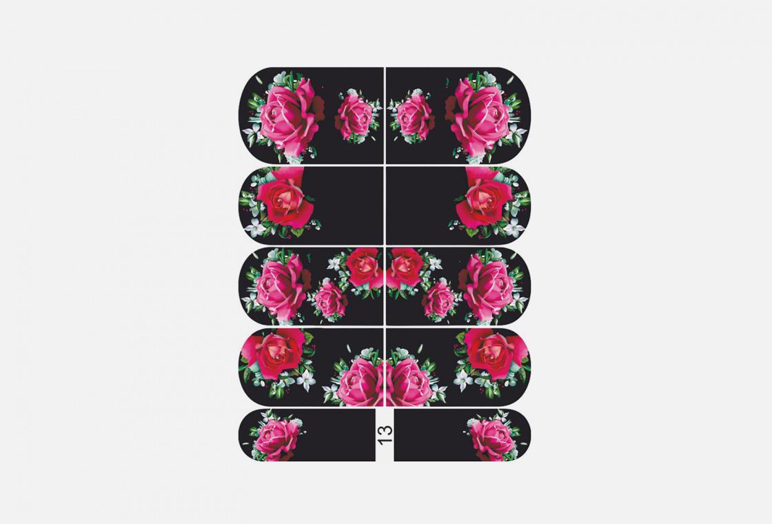 Слайдер-дизайн для ногтей Krimle 13