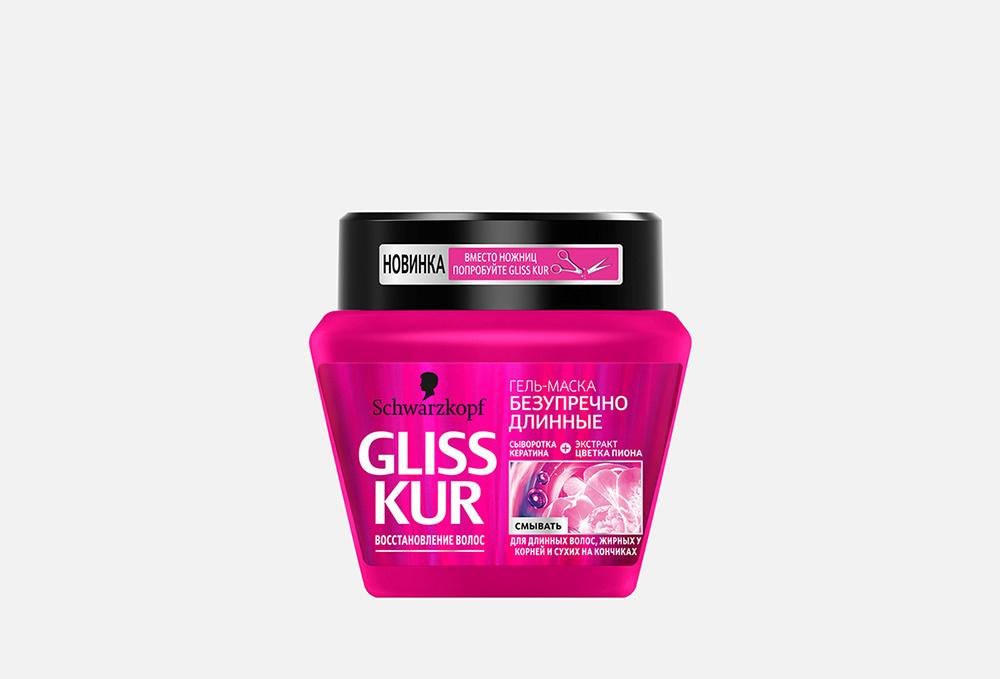 Маска-гель для волос  Gliss Kur Безупречно Длинные
