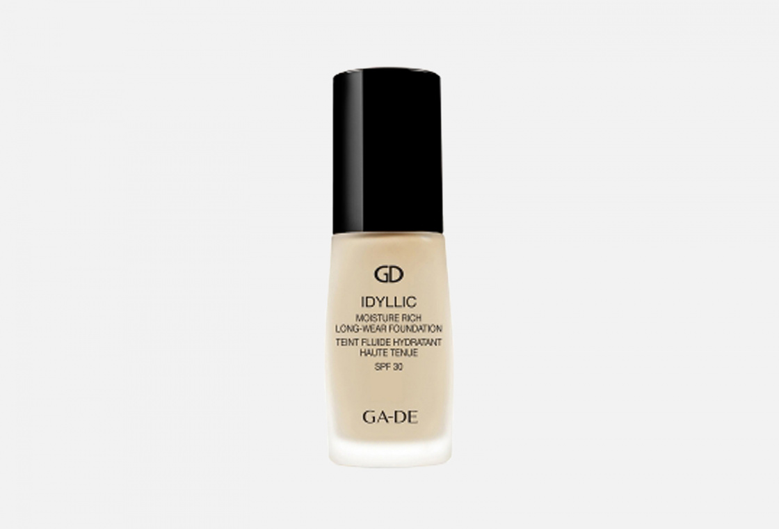 Тональный крем Ga De  IDYLLIC MOISTURE RICH LONG-WEAR FOUNDATION SPF30