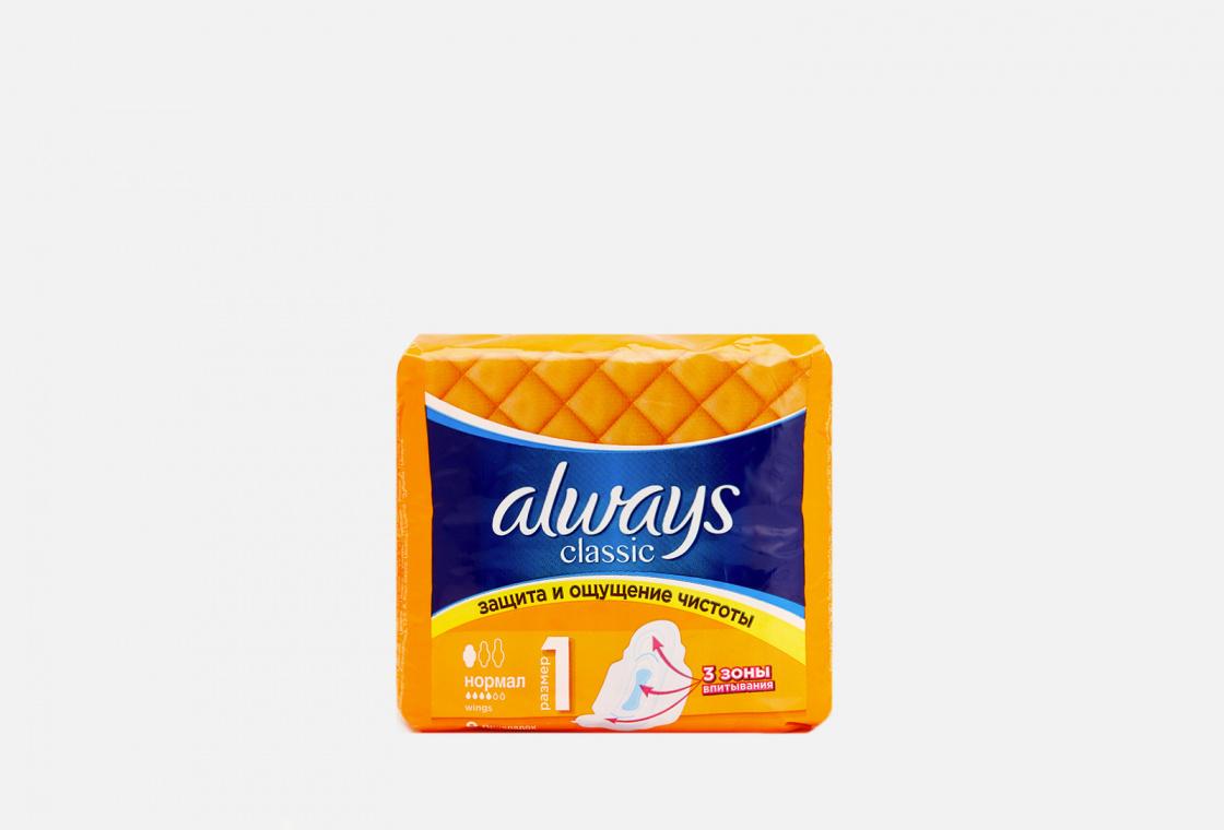 Гигиенические прокладки с крылышками Always Classic Normal