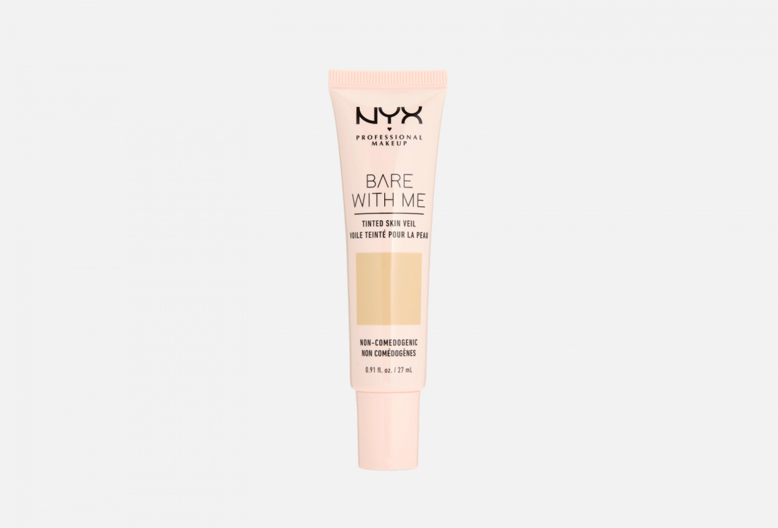Тональная основа-вуаль для лица NYX PROFESSIONAL MAKEUP Bare With Me Tinted Skin Veil