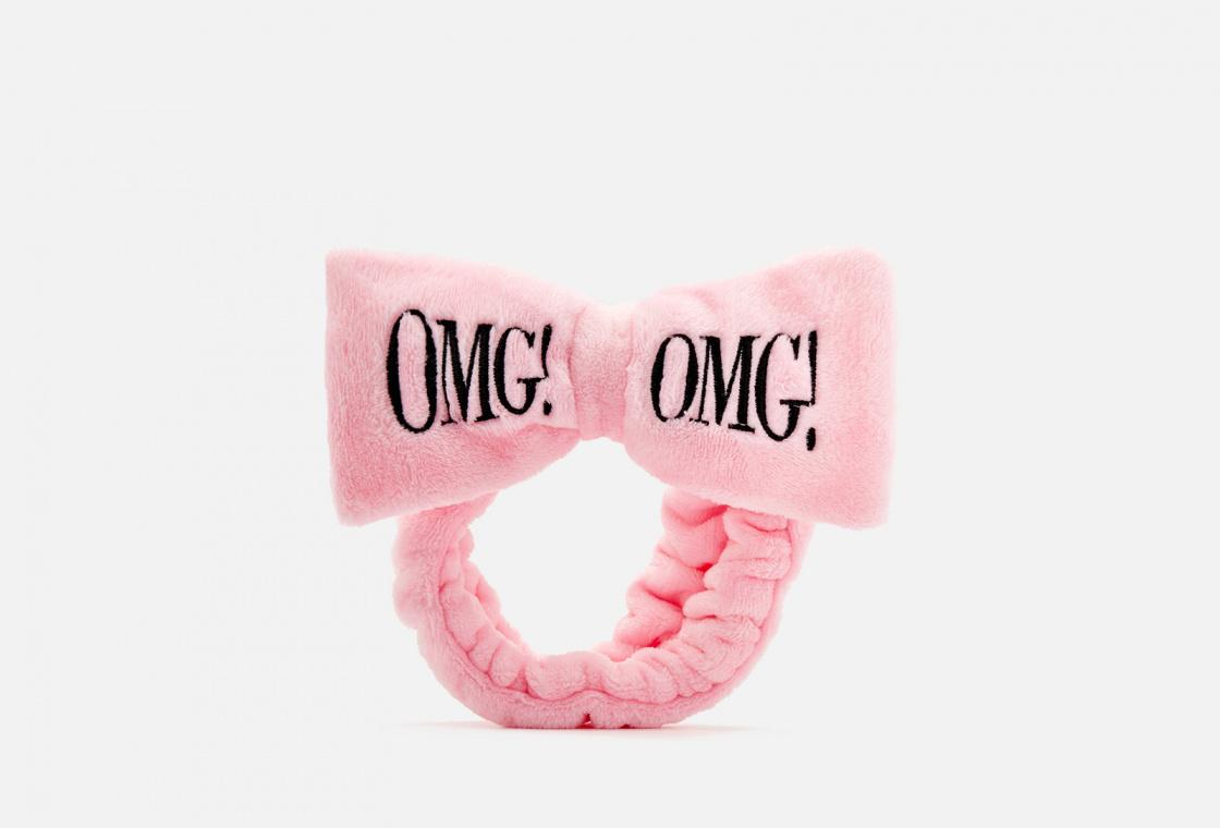 Повязка косметическая для волос нежно-розовая Double Dare OMG!  Hair Band - Light Pink