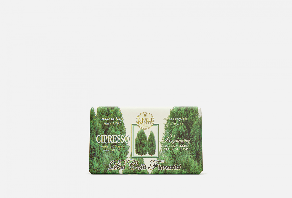 Мыло туалетное Nesti Dante Regenerating Cypress Tree