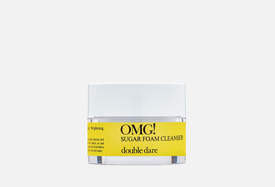 Пенка-скраб сахарная для глубокого очищения Double Dare OMG!  Sugar Foam Cleanser