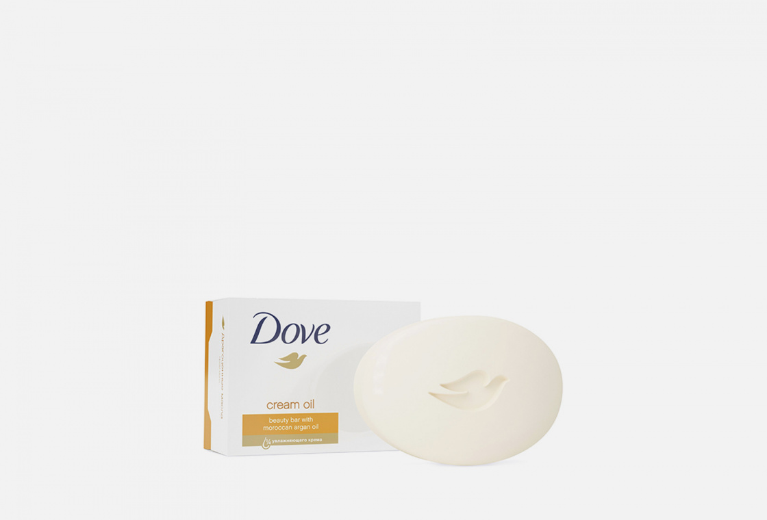 Крем-мыло Dove Драгоценные масла