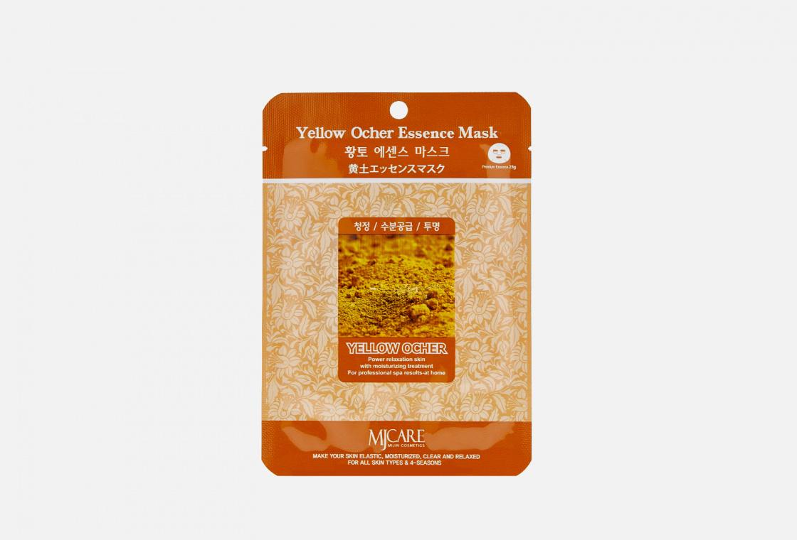 Маска тканевая охра Mijin Care Yellow Ocher Essence Mask