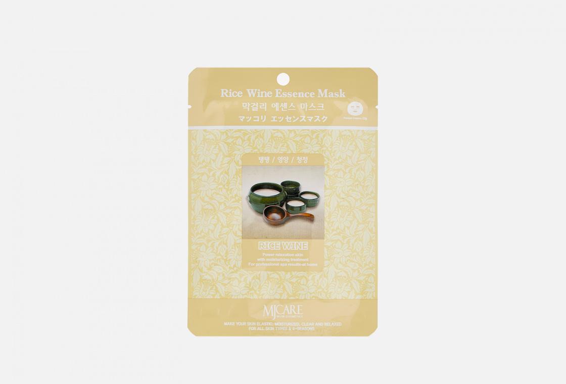 Маска тканевая рисовое вино Mijin Care Makgeolli Essence Mask