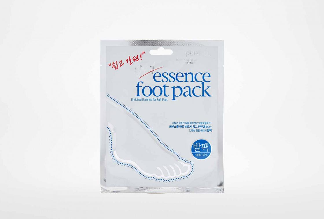 Увлажняющая питательная маска для ног PETITFEE Dry Essence foot pack