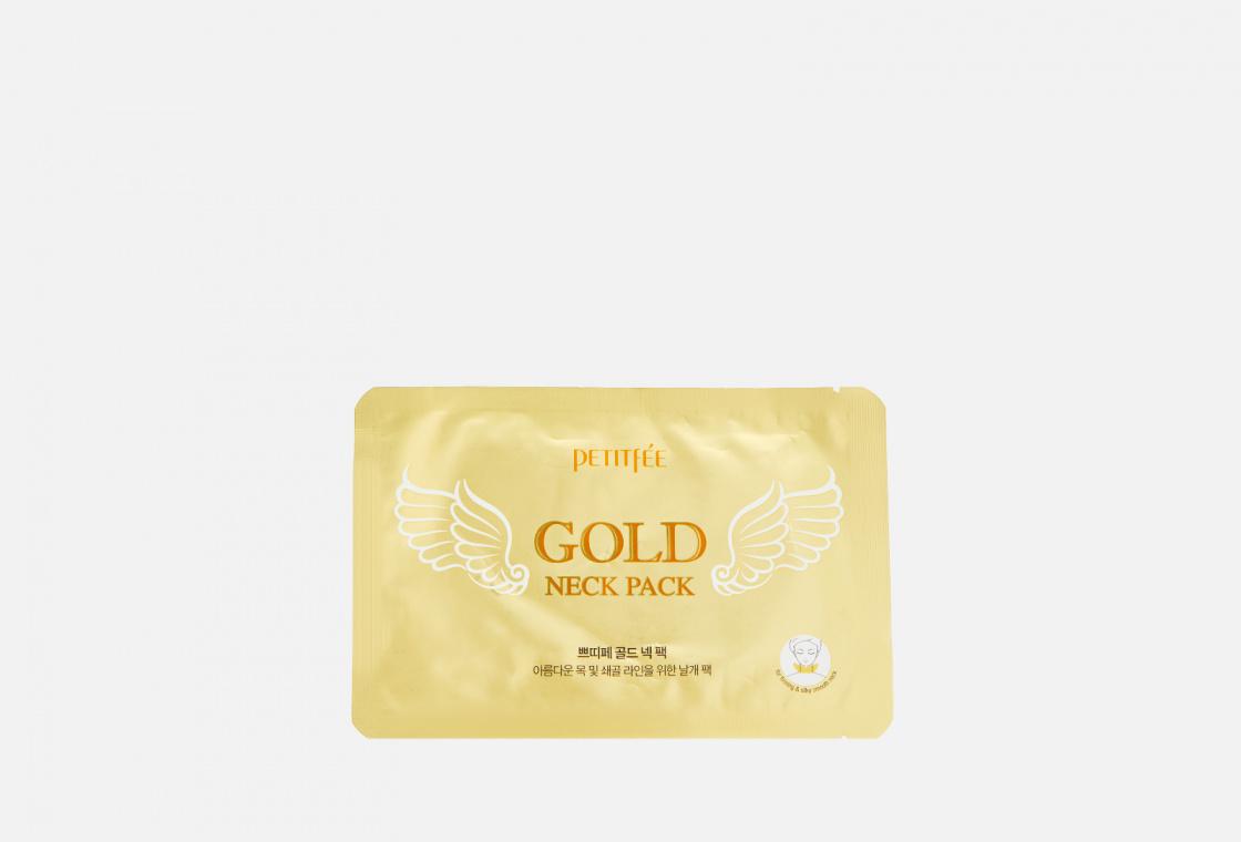 Гидрогелевые патчи для шеи PETITFEE Gold Neck Pack