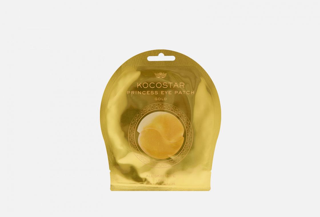 Патчи гидрогелевые для глаз Kocostar Princess Eye Patch Gold